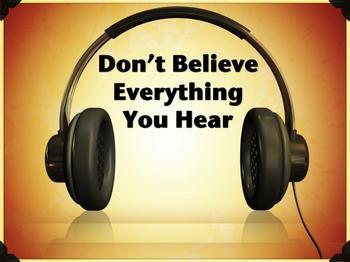 Nem kell meghallani minden zajt