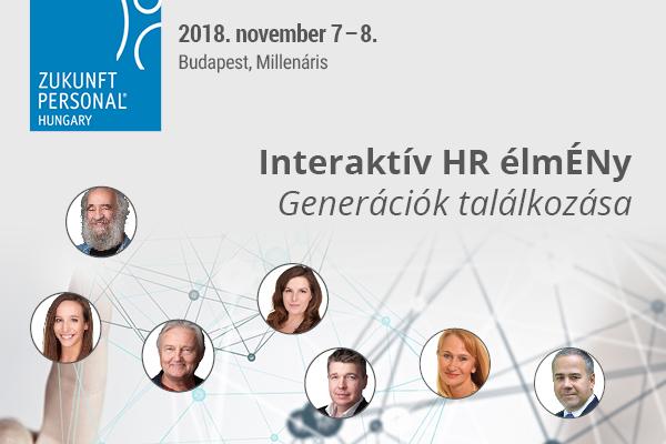 Generációk találkozása és interaktivitás a Zukunft Personal Hungary-n