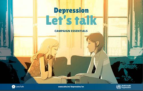 Depresszió, Beszéljük meg!