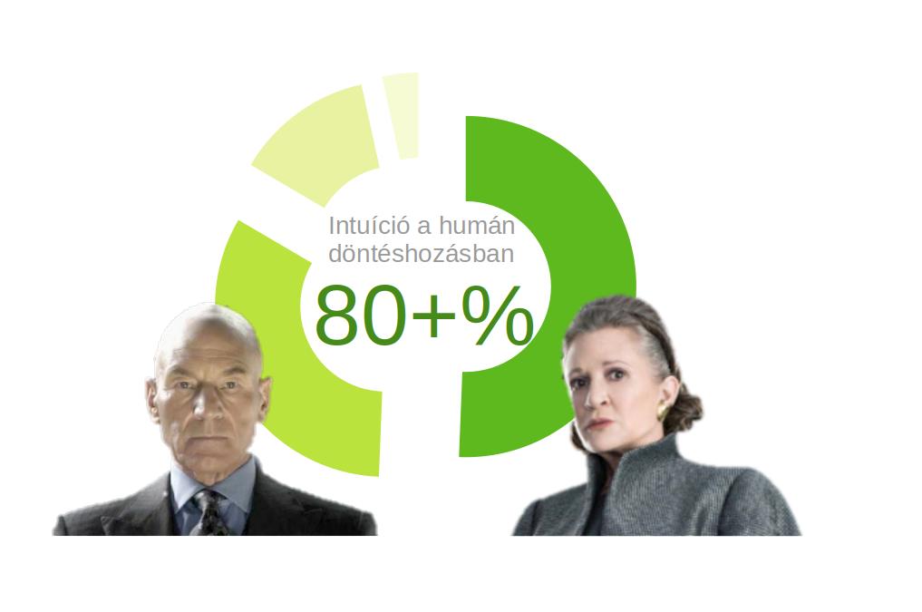 Hogy lehet, hogy a humán stratégák meglepő 80 százaléka intuitívan csípőből tüzel és mégis célba ér?