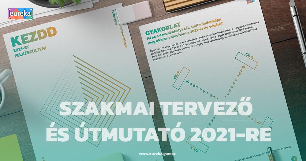 Szakmai tervező és útmutató 2021-re