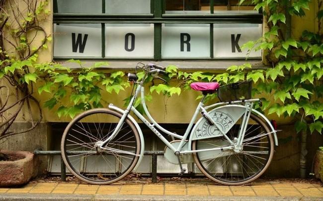 Kerékpárral a munkahelyre