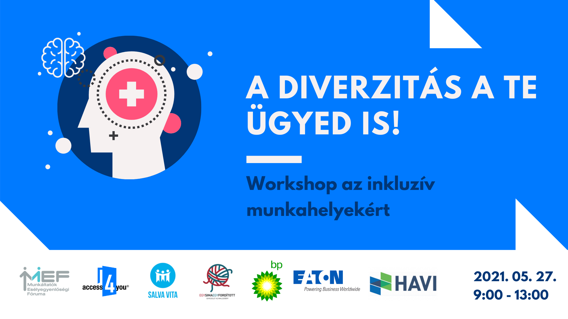A diverzitás a Te ügyed is! - Workshop az inkluzív munkahelyekért