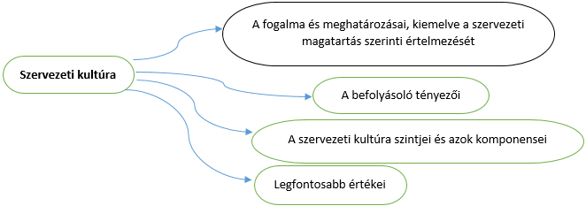A szervezeti kultúra, mint a szervezeti hatékonyságot befolyásoló eszköz
