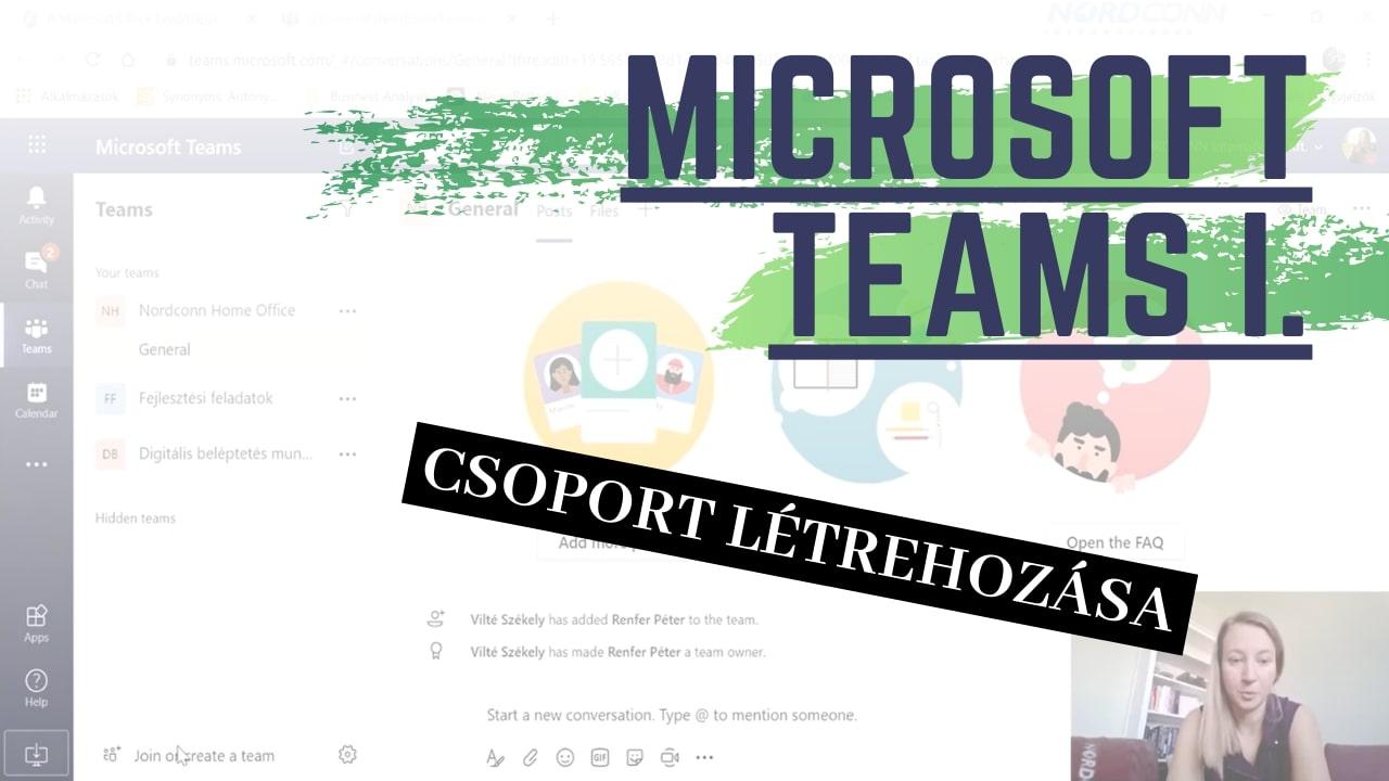 Home Office sorozat/Microsoft Teams első lépések