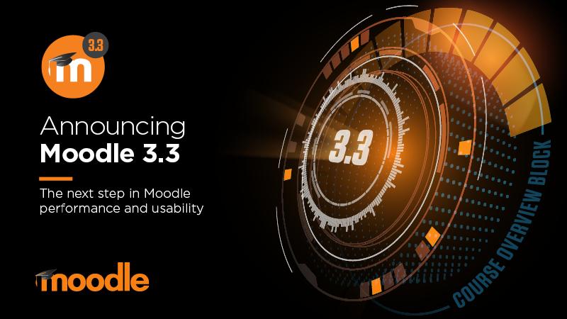A Moodle 3.3 újdonságai