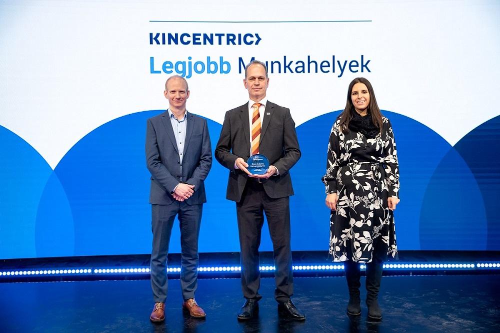 Öröm és nagy felelősség a vezetőknek a Legjobb Munkahely díj elnyerése