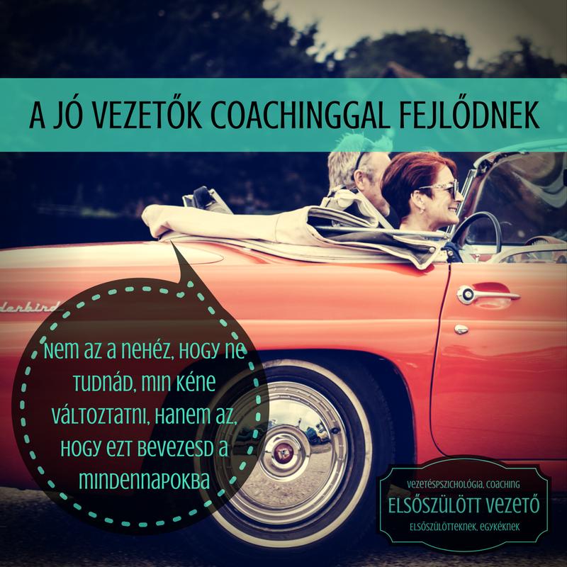 A jó vezetők coachinggal fejlődnek