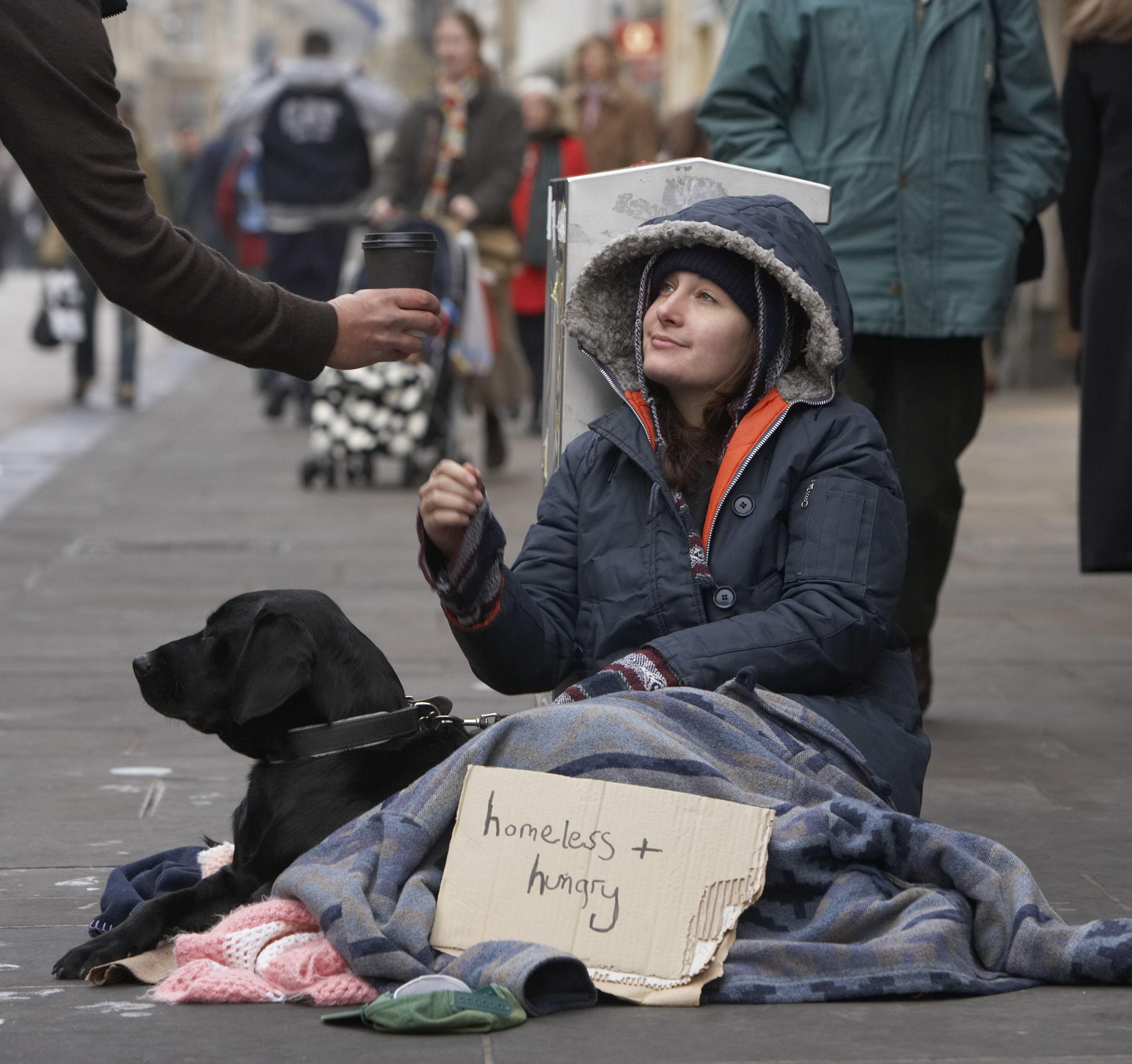 Index - Belföld - Megkedvelték a lakók a hajléktalant, ingatlant vennének neki