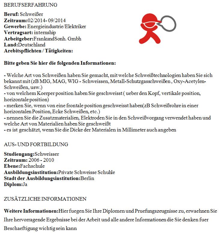 önéletrajz németül szótár A Tjobs német nyelvű önéletrajz mintája hegesztőknek önéletrajz németül szótár
